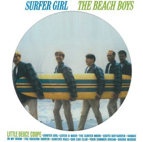 THE BEACH BOYS Surfer Girl Vinyl Record LP DOL 2017 Picture Disc